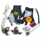 Professional 2-Gun Tattoo Machine Complete Kit Set
