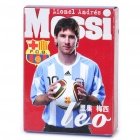 Lionel Messi Figure Image Style Paper Playing Cards Poker Set (54-Piece Set)