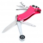 Outdoor Multi-Tool Knife - Red