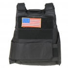 War Game Military Tactical Combat Vest - Black