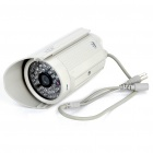 300K Pixel CMOS Surveillance Security Camera with 48-LED Illumination Light - Grey White (DC 12V)