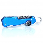 Compact 9-in-1 Stainless Steel Multi-Tool Knife - Blue