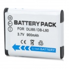 1300mAh Battery for SANYO Xacti DB-L80 PENTAX D-Li88
