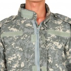 Military Army Camouflage Shirt + Pants Set Suit Uniform - Random Color (Size S)