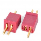Mini T Connectors Plug for R/C Helicopter Battery (Pair)