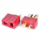 T Connectors Plug for R/C Helicopter Battery (Pair)