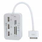 Multi-Card Reader + 3-Port USB Hub Combo Kit w/ USB Cable for iPad/iPad 2