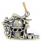 Carbon Alloy Tattoo Machine Gun - Skull Head