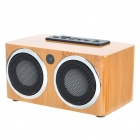Portable Bamboo SD/USB MP3 Music Speaker (3.5mm Jack)