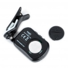 Universal Clip Tuner for Guitar - Black (1 x CR2032)