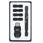 Quit Smoking USB Rechargeable E-Cigarette with 4-Refills (Mid Nicotine/Flue-Cured)