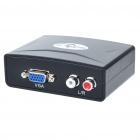 VGA to HDMI Video Converter - Black