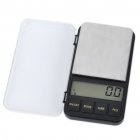 "2.4"" LCD Portable Jewelry Digital Pocket Scale - 500g/0.1g (2xAAA)"
