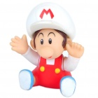 Cute Super Mario Figure Toy - Red + White