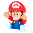 Cute Super Mario Figure Toy - Red + Blue
