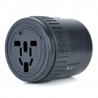 Universal Travel AC Power Adapter/Charger - Black (UK/EU/US Plug)