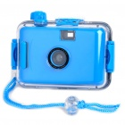 Twins Star 35mm Film Lomo Camera w/ Waterproof Casing - Blue