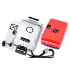 Twins Star 35mm Film Lomo Camera w/ Waterproof Casing - Red