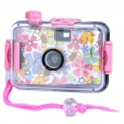 Twins Star 35mm Film Lomo Camera w/ Waterproof Casing (Pattern Assorted)