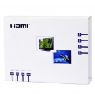 6-Port 3D Full HD 1080P HDMI Switcher w/ Remote Controller (4-IN/2-OUT)