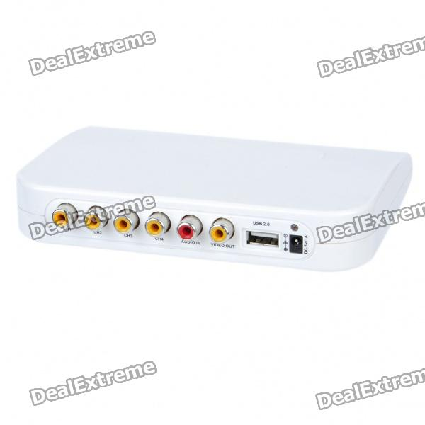 Security 4-Channel Real-Time USB DVR Box real cable ott60 1m20