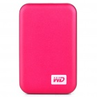 "Genuine WD 2.5"" Hard Drive with External USB 3.0 Enclosure - Red (500GB)"