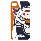 Kung Fu Panda Tai Lung Figure Protective Back Case w/ Screen Guard + Cleaning Cloth for iPhone 4