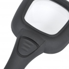 Handheld 3X Magnifier with 5-LED White Light + Money Detector LED Light (4 x AG10)