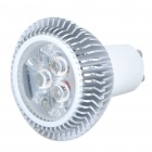 GU10 3W 3200K 240-Lumen 3-LED Warm White Light Bulb (85~265V)