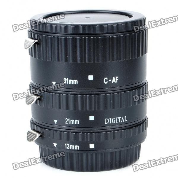 MEIKE Auto Focus Macro Extension Tube Set for Canon DSLR mcoplus mk c up extension tube auto macro af reverse meike adapter for canon ef ef s camera