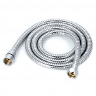 Flexible Stainless Steel Electroplate Water Tube for Shower Head - Silver