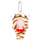 Cute Short Plush Tiger Doll Toy Photo Frame