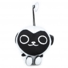 Cute Guereza Figure Plush Toy with Suction Cup