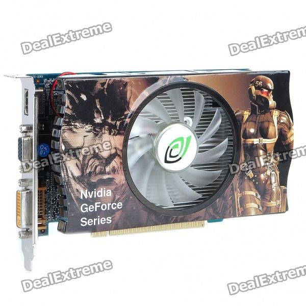Nvidia GeForce 1024M GT 220 DDR3 128Bit PCI-Express-Grafikkarte