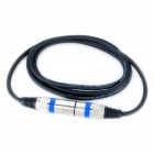 Cannon XLR 6.0mm OD 3-Pin Male to Female Microphone Cable (132.5CM-Length)