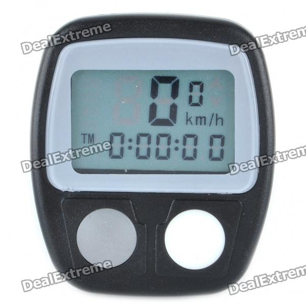 "1.3"" LCD Electronic Bicycle Computer/Speedometer (1 x AG13)"