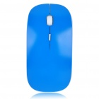 Designer's 2.4GHz Wireless 500/1000DPI USB Optical Mouse w/ Receiver - Blue (2 x AAA)