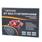 BT Interphone + Handsfree Bluetooth for Motorcycle and Skiing Helmet