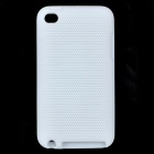 Stylish Protective Silicone Back Case for Ipod Touch 4 - White