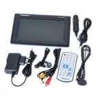 "Portable 7"" True Color LCD Television with SD Slot (PAL/NTSC/SECAM)"