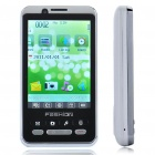 "K2801 2.8"" LCD Dual SIM Dual Network Standby Quadband GSM TV Cell Phone w/ Java - White"