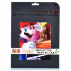 Protective Full Skin Stickers for iPad 2 - Mario (Front + Back)