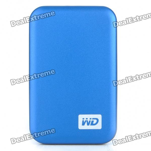 Genuine WD 2.5 Hard Drive with External USB 3.0 Enclosure - Blue (500GB) aluminum project box splitted enclosure 25x25x80mm diy for pcb electronics enclosure new wholesale