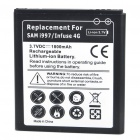 "Replacement 3.7V ""1800mAh"" Battery for Samsung i997/Infuse 4G"