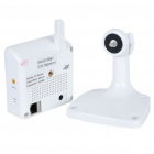 300KP Wireless WiFi Network Surveillance IP Camera w/ 12-LED Night Vision/Microphone