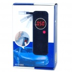 LED Digital Mouthpiece Alcohol Concentration Tester w/ 6 Mouthpieces (2 x AA)