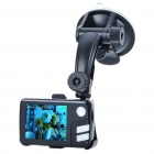 "1.2MP Wide Angle Car DVR Camcorder w/ 4x Digital Zoom/TF/AV-Out/Mini USB (2.2"" LCD)"