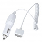 1000mA Car Cigarette Lighter Power Adapter w/ Charging Cable for iPhone 3G/3GS/4/iPod (12~24V)