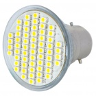 B22 4W 3500K 240-Lumen 60-SMD LED Warm White Light Bulb (85 ~ 265V)