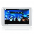 "5"" Touch Screen LCD Android 2.2 Tablet PC w/ WiFi/TF - White (8GB)"